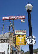 Wurlitzer Photos - Route 66 Canyon Club by Bob Christopher