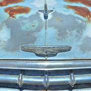 John Kelly Prints - Route 66 Chevy Abstract Print by John Kelly