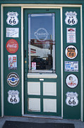 Wurlitzer Photos - Route 66 Doorway by Bob Christopher