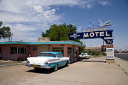 Tailgate Prints - Route 66 Motel, 2006 Print by Granger