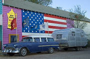 Pinstriping Photos - Route 66 Nomad by Bob Christopher