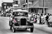 Colorful Photography Posters - Route 66 Parade Poster by Karen M Scovill