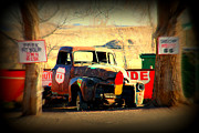The Mother Photo Prints - Route 66 Parking Lot Print by Susanne Van Hulst