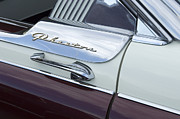 Car Emblems Prints - Route 66 Phaeton Emblem Print by Bob Christopher
