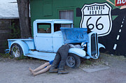 Fun Show Art - Route 66 Repair Shop by Bob Christopher