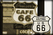Williams Prints - Route 66 Print by Ricky Barnard