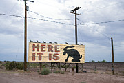 Jackrabbit Art - Route 66 Road Sign, 2006 by Granger