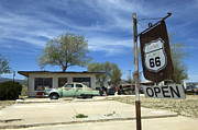 Pinstriping Photos - Route 66 Still Open by Bob Christopher