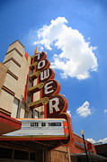 Neon - Route 66 - Tower Theater by Frank Romeo