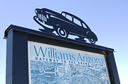 Wurlitzer Photos - Route 66 Williams Sign by Bob Christopher