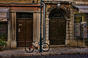 Rovinj Posters - Rovinj Bicycle Poster by Crystal Nederman