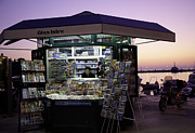 Rovinj Posters - Rovinj News Stand Poster by Madeline Ellis