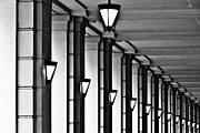 Abundance Art - Row Of Lamps by Jeremy Vickers Photography