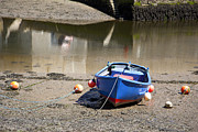 Moored Photos - Rowing boat by Jane Rix