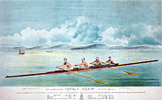 Unity Art - ROWING TEAM, c1875 by Granger