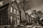 Old Homes Photos - Rows by Chuck Alaimo