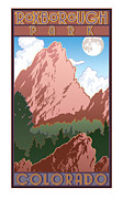 Illustrative Prints - Roxborough Park Poster Print by Steven Schader