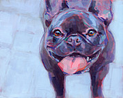 French Bulldog Paintings - Roxy by Kimberly Santini