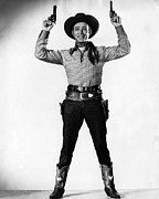 Csx Framed Prints - Roy Rogers 1911-1998, American Actor Framed Print by Everett
