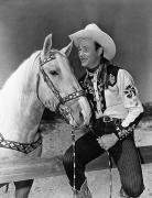 Encbr Framed Prints - Roy Rogers (1912-1998) Framed Print by Granger