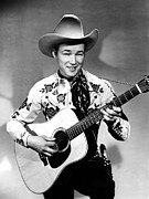 Bandana Prints - Roy Rogers, C. 1940s Print by Everett