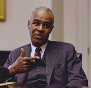 Cabinet Room Prints - Roy Wilkins 1901-1981, Executive Print by Everett