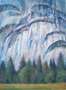 Yosemite Pastels - Royal Arches at Yosemite by Barbara Beaudreau