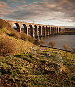 Built Structure Art - Royal Border Bridge, Berwick-upon-tweed by David Tait