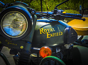 Enfield Prints - Royal Enfield Sounds Fitting Print by Chuck Re