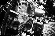 Enfield Prints - Royal Enfield Print by Vern Minard