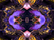 "\""algorithmic Abstract\\\"" Prints - Royal enticement Print by Claude McCoy"