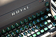Typewriter Keys Photos - Royal Find by Bruce Carpenter