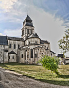 Tombs Digital Art - Royal Fontevraud Abbey by Sheila Laurens