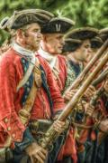 Americans Digital Art Posters - Royal Highlanders at Bushy Run August 1763 Poster by Randy Steele