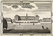 Serviceman Framed Prints - Royal Hospital Chelsea, 18th Century Framed Print by Middle Temple Library