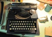 Typewriters Photos - Royal by Jan Amiss Photography