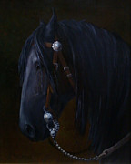 Bit Originals - Royal Jewels - Friesian Horse by Kim Corpany