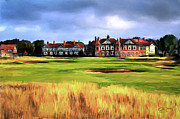 Scott Melby Framed Prints - Royal Lytham St. Annes Golf Club Framed Print by Scott Melby