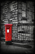 Mail Box Framed Prints - Royal Mail Framed Print by Evelina Kremsdorf