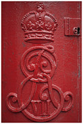 Post Box Prints - Royal Mailbox Print by Heiko Koehrer-Wagner