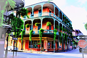 Royal Digital Art - Royal Street - New Orleans by Bill Cannon
