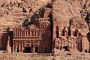 Jordan Photos - Royal Tombs, Petra, Jordan by Joe & Clair Carnegie / Libyan Soup