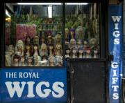 Wigs Posters - Royal Wigs Poster by Robert Ullmann