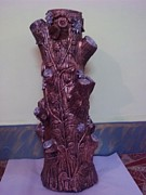 Color Sculpture Originals - Royale Tree by Hakimuddin Pathan
