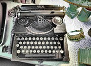 Typewriters Photos - Royally Yours by Jan Amiss Photography