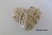 Rubber Sculptures - Rubber Heart by Katie-Marie OConnor