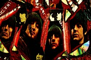Michael Kulick Art - Rubber Soul Beatles by Michael Kulick