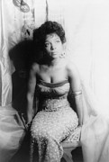 Cleavage Prints - Ruby Dee, Portrait By Carl Van Vechten Print by Everett