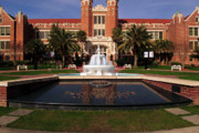 Fsu Framed Prints - Ruby Diamond Auditorium on FSU Campus Framed Print by Frank Feliciano