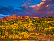 Pauls Colorado Photography Prints - Ruby Range Sunset Print by Paul Gana